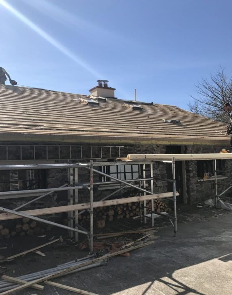 New Roofs Installed