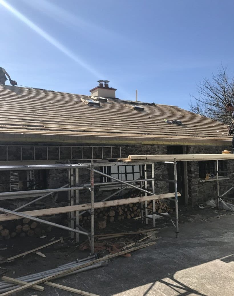 New Roof Installed in Cork