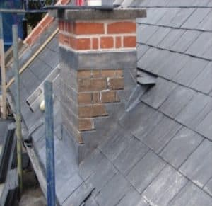 Flashing Chimney Repair in Cork